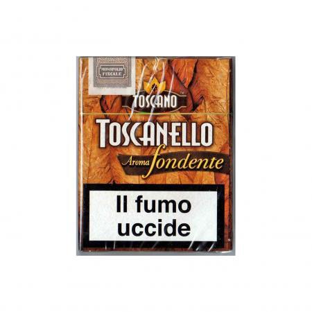 Toscanello Aroma Fondente - Scatola da 5 pezzi